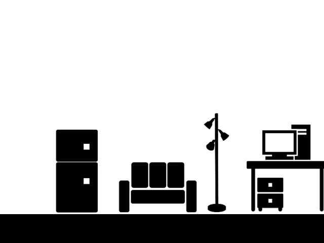 単身男性の部屋